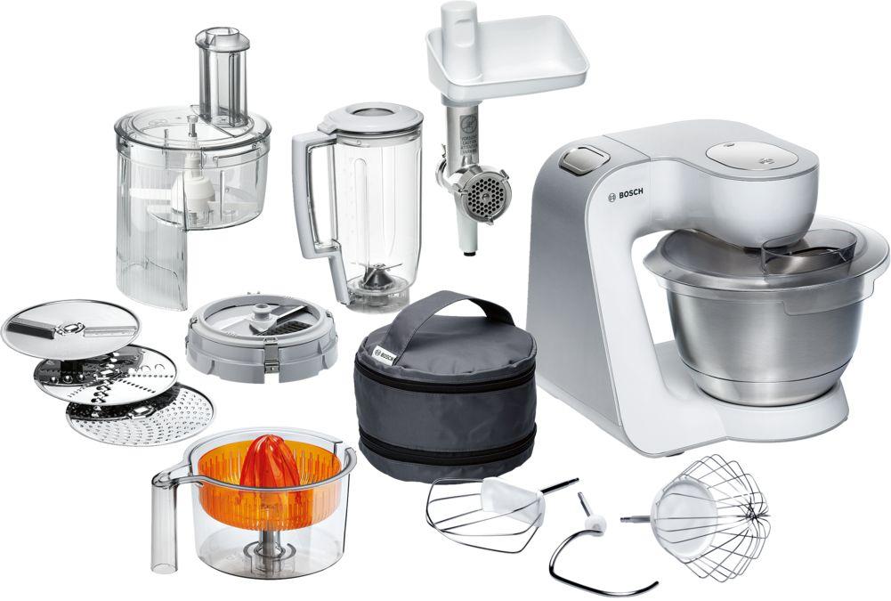 кухонная машина цвет белый серебристый Mum54251 Bosch