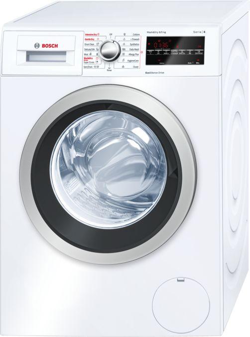 Incredible 8 Kg 5 Kg Wash Dryer White Wash Dryer Serie 6 Wvg30460In Bosch Wiring Digital Resources Dylitashwinbiharinl