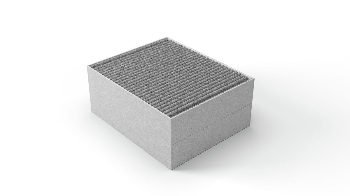 Inselesse 37 cm kubus design schwarz serie 6 dii31jm60 bosch