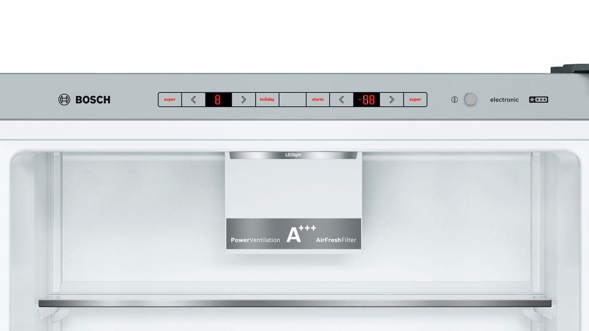 Bosch Kühlschrank Wo Ist Die Typenbezeichnung : Türen edelstahl mit anti fingerprint kühl gefrier kombination