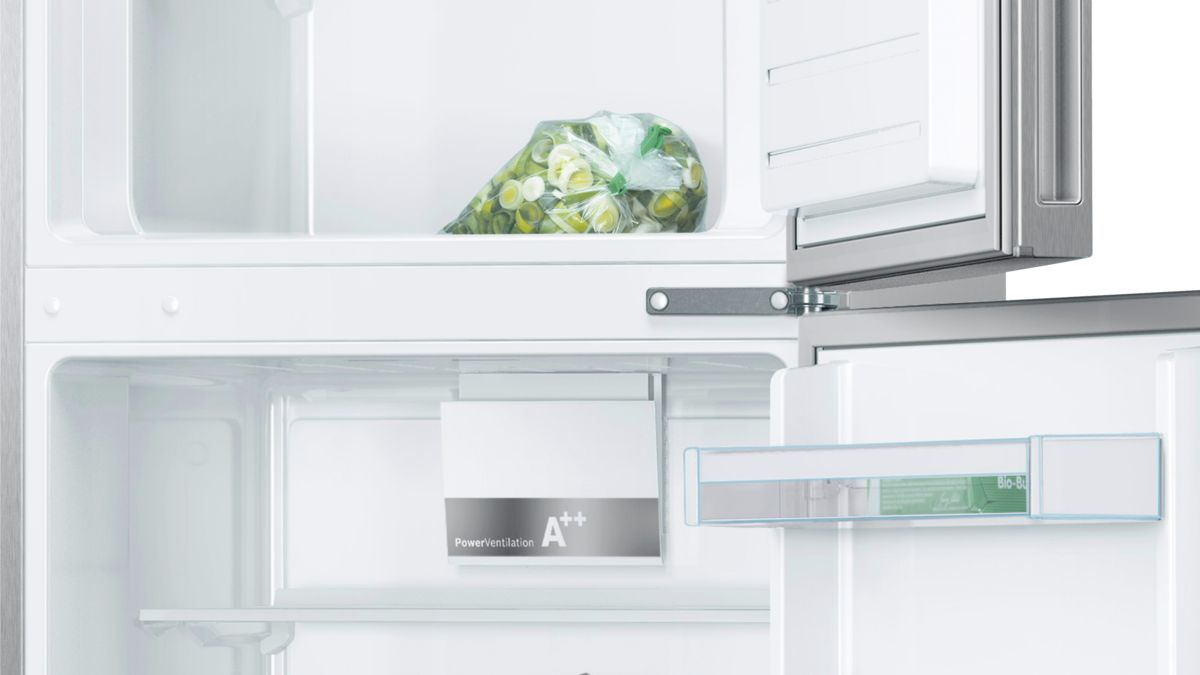 Frigo-congelatore da libero posizionamento Inox look - Serie | 4 ...