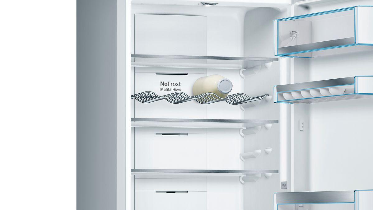 Bosch Kühlschrank Otto : Nofrost kühl gefrier kombination türen edelstahl mit anti