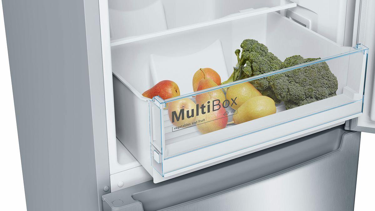 Bosch Kühlschrank Macht Geräusche : Bosch ksv ai p kühlschrank edelstahl a