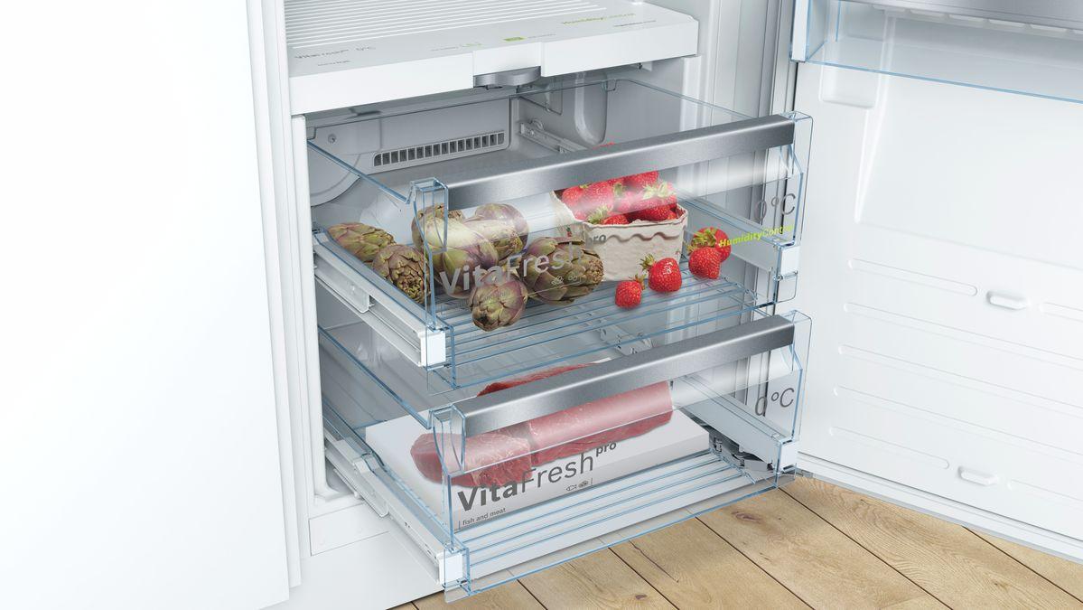Kühlschrank In Auto Einbauen : Einbau kühlschrank flachscharnier serie kif af bosch