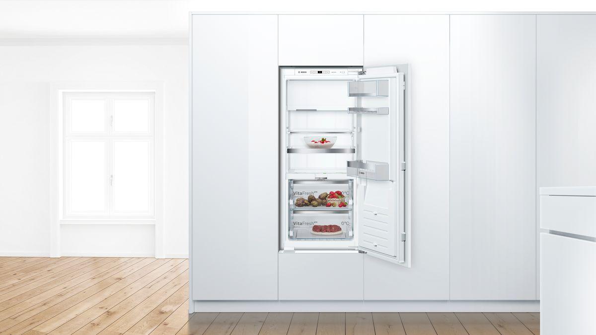 Bosch Kühlschrank Kälte Einstellen : Einbau kühlschrank smartcool serie kif af bosch
