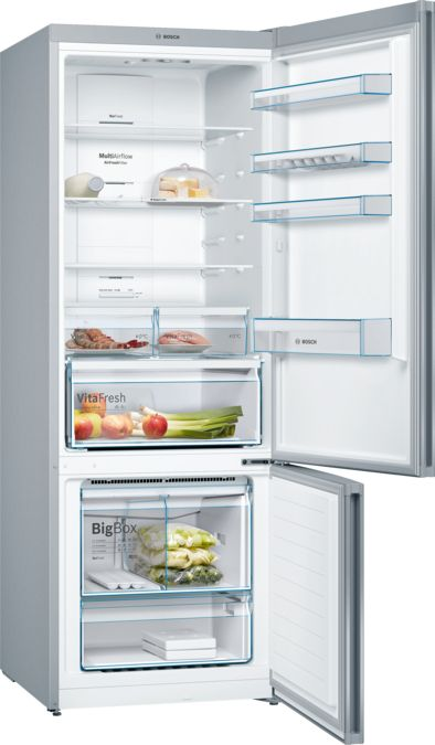 BOSCH - KGN56VL40B - free-standing fridge-freezer with