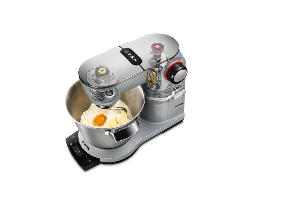 Univerzalni kuhinjski aparat OptiMUM platinum silver - MUM9AX5S00   BOSCH d42bbafbb3f7