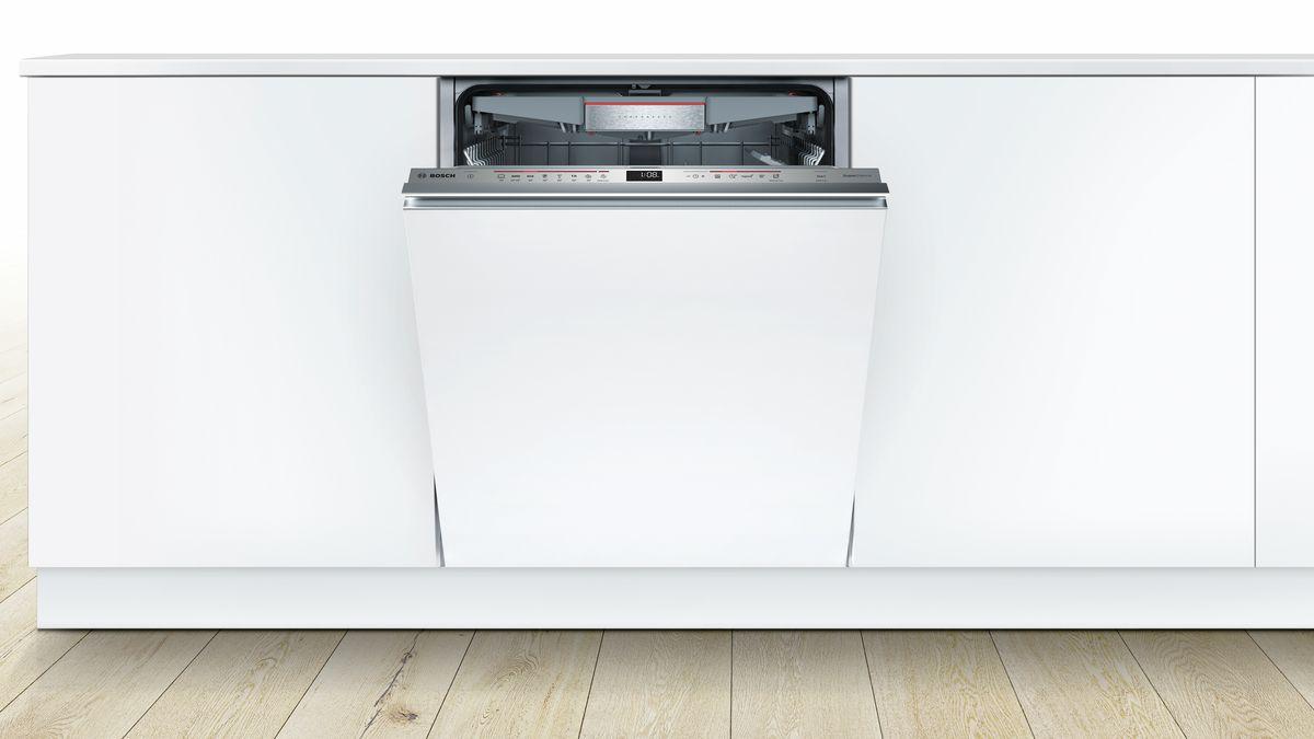 supersilence geschirrsp ler 60 cm vollintegrierbar serie 6 smv68tx02e bosch. Black Bedroom Furniture Sets. Home Design Ideas