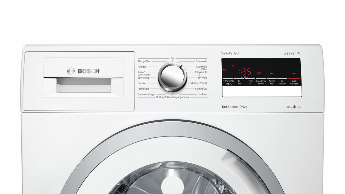 Bekannt BOSCH - WAN28296 - Waschmaschine, Frontlader ZA55