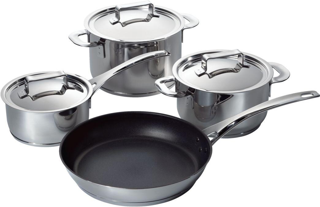 Verwonderlijk HEZ390040 - set of 3 pots + 1 pan for induction hob - BOSCH RW-51