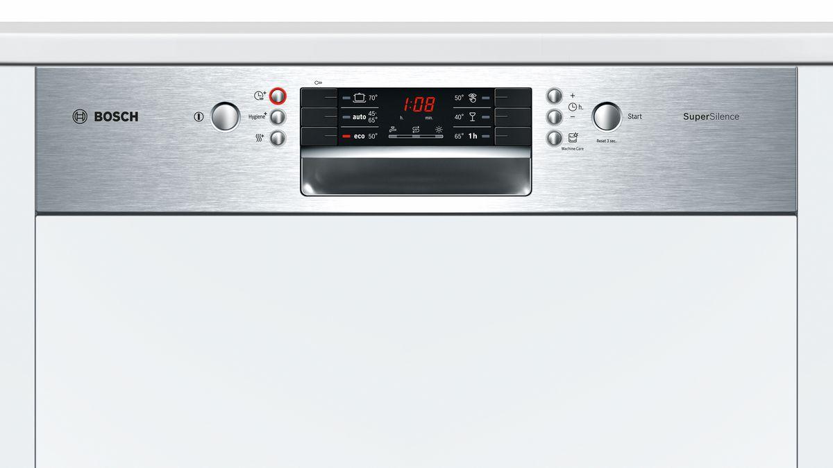 bas prix dcdcd fabac Serie | 4 Lave-vaisselle intégrable avec bandeau 60 cm Inox SMI46KS09E