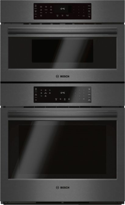 800 Series 30 Combination Wall Oven With Sd Hbl8742uc Black Stainless Steel