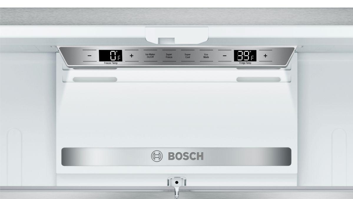 BOSCH - B21CT80SNS - French Door Bottom Mount Refrigerator