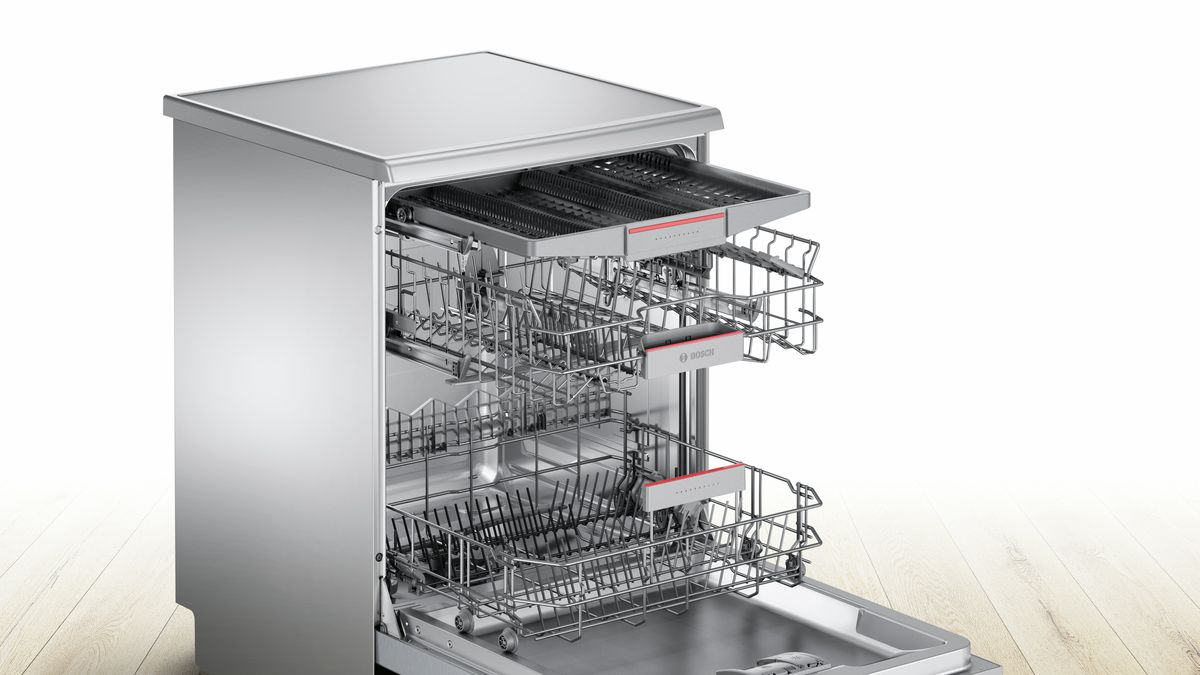 Bosch Sms46mi00z Freestanding Dishwasher
