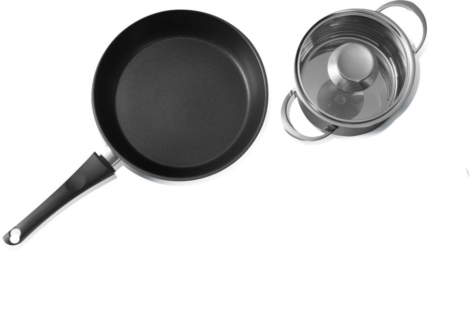 Ongekend BOSCH - 00576026 - Pannenset Inductie Kookplaten - 4-delig HE-31