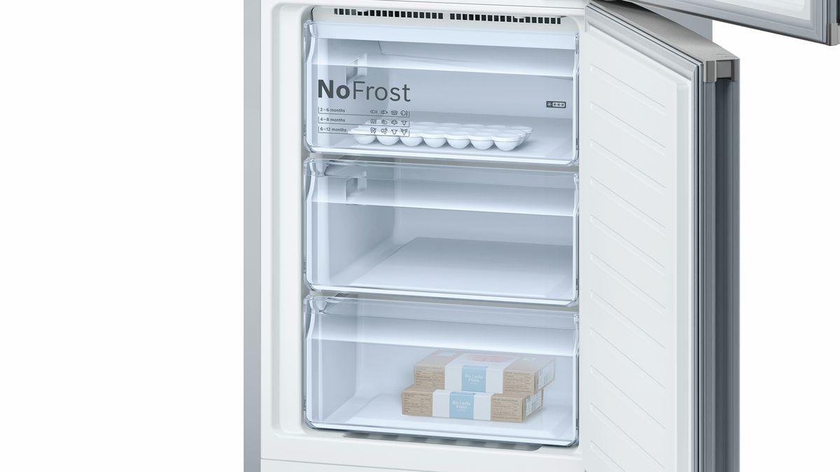 Bosch Kühlschrank Anleitung : Nofrost kühl gefrier kombination türen edelstahl mit anti