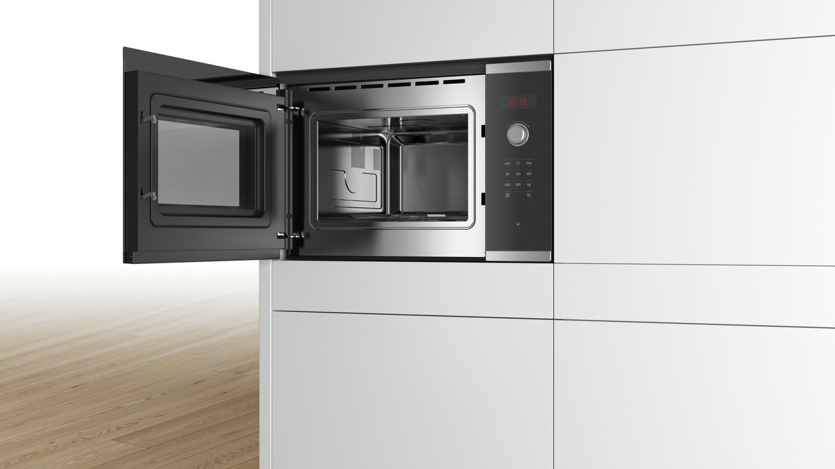 Bosch Bfl553ms0i Built In Microwave Oven
