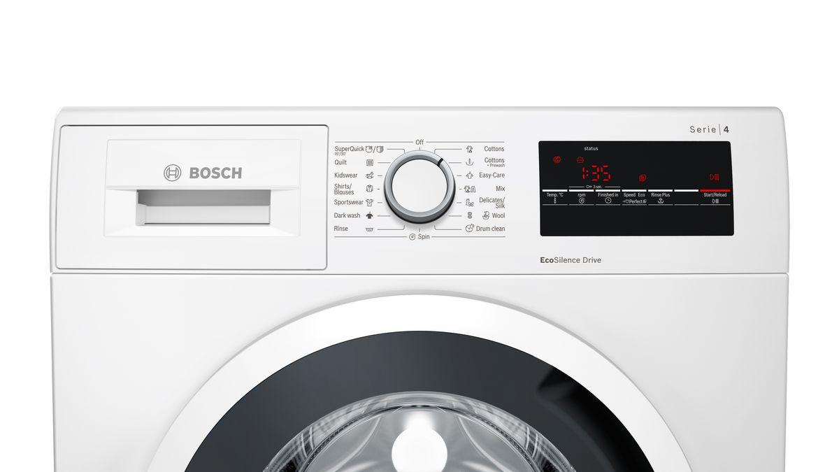 Serie   4 Washing machine, front loader 7 5 kg 1100 rpm WAN22120AU