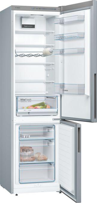 BOSCH KGV39VL31S Szabadonálló, alulfagyasztós hűtő
