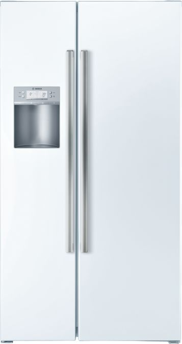 36 Counter Depth Side By Side Refrigerator 500 Series White