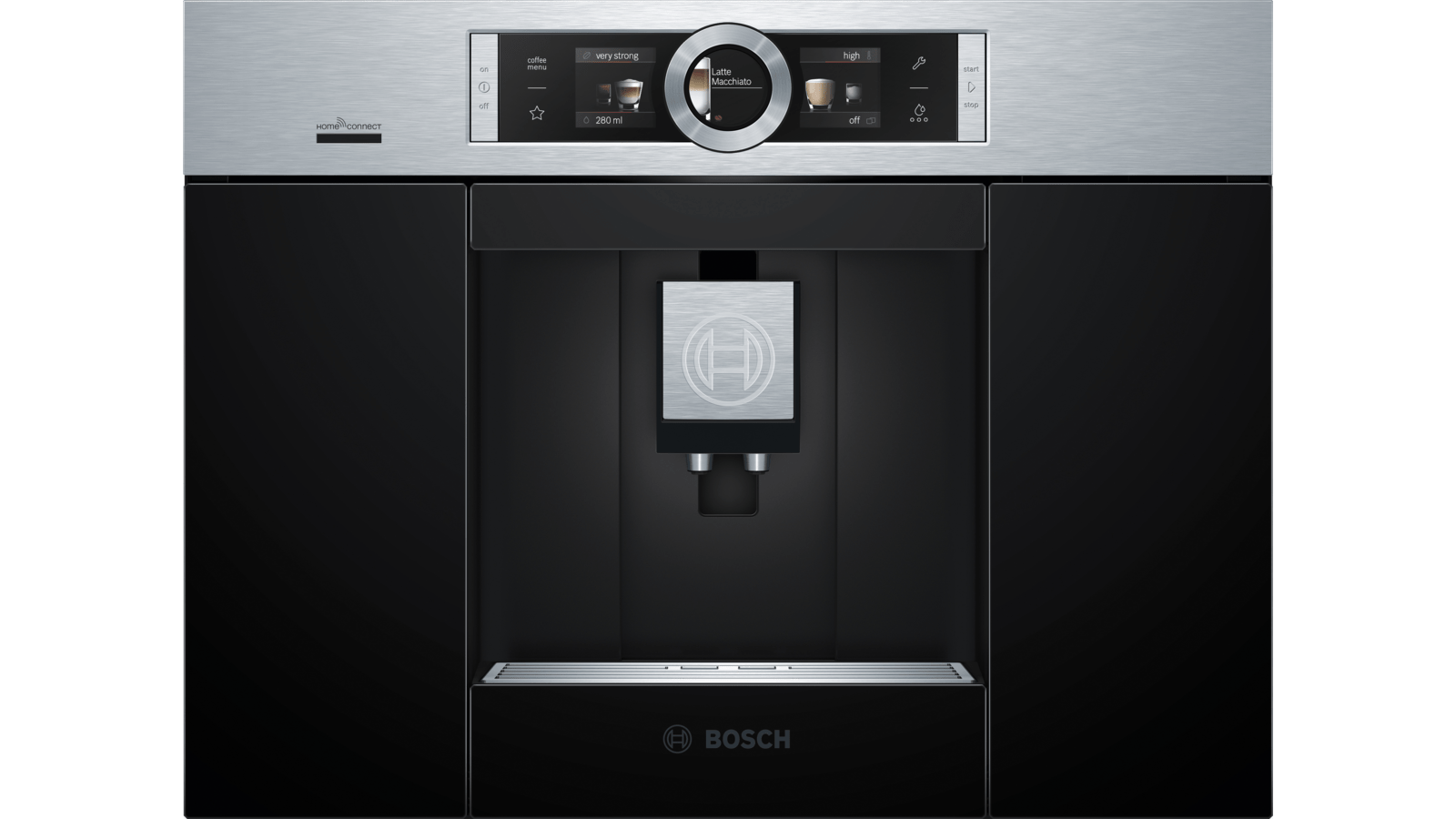 BOSCH CTL636ES6 Built in fully automatic coffee machine
