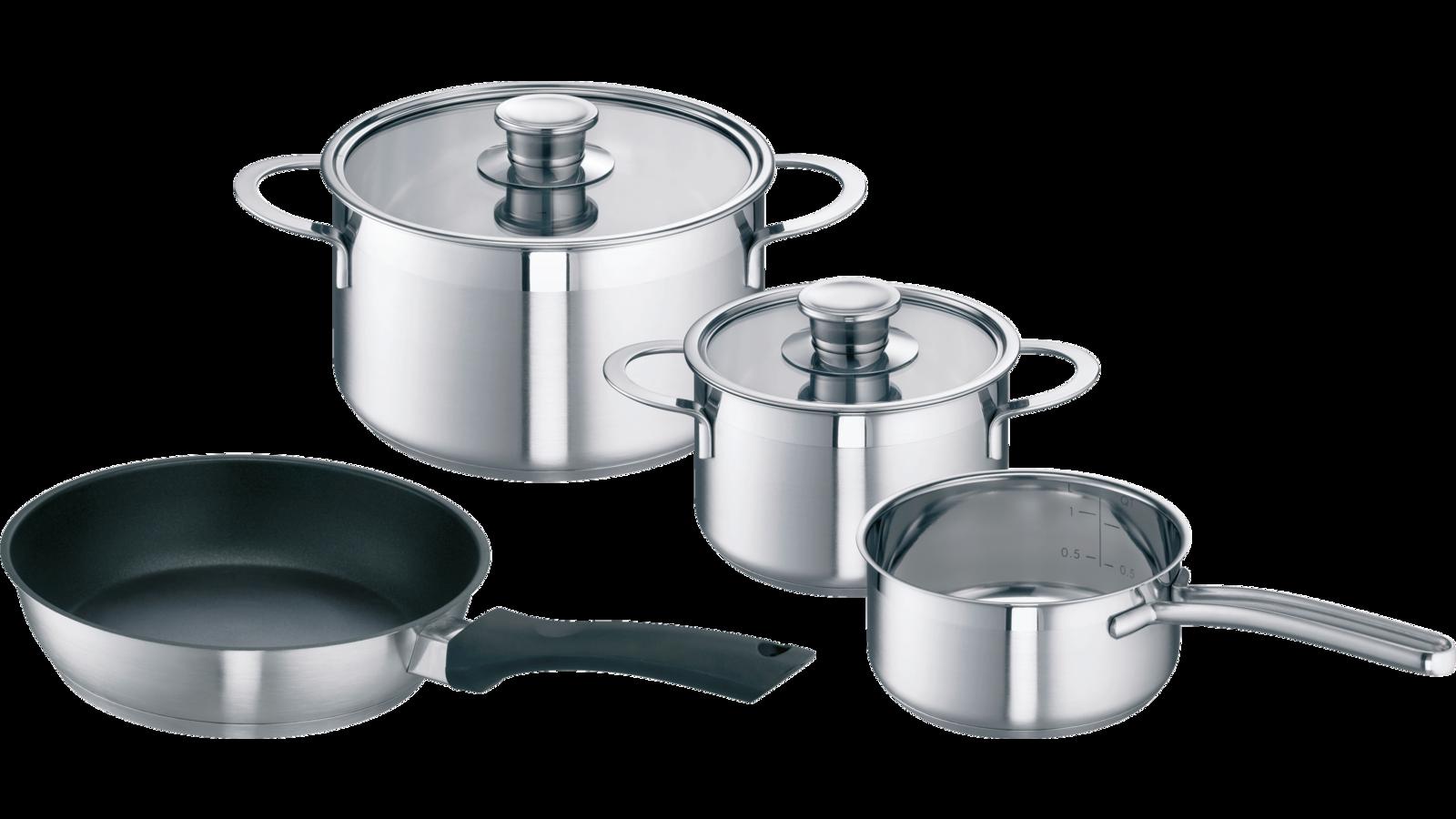 Bosch 00576026 Batterie De Cuisine Pro En Inox 18 10