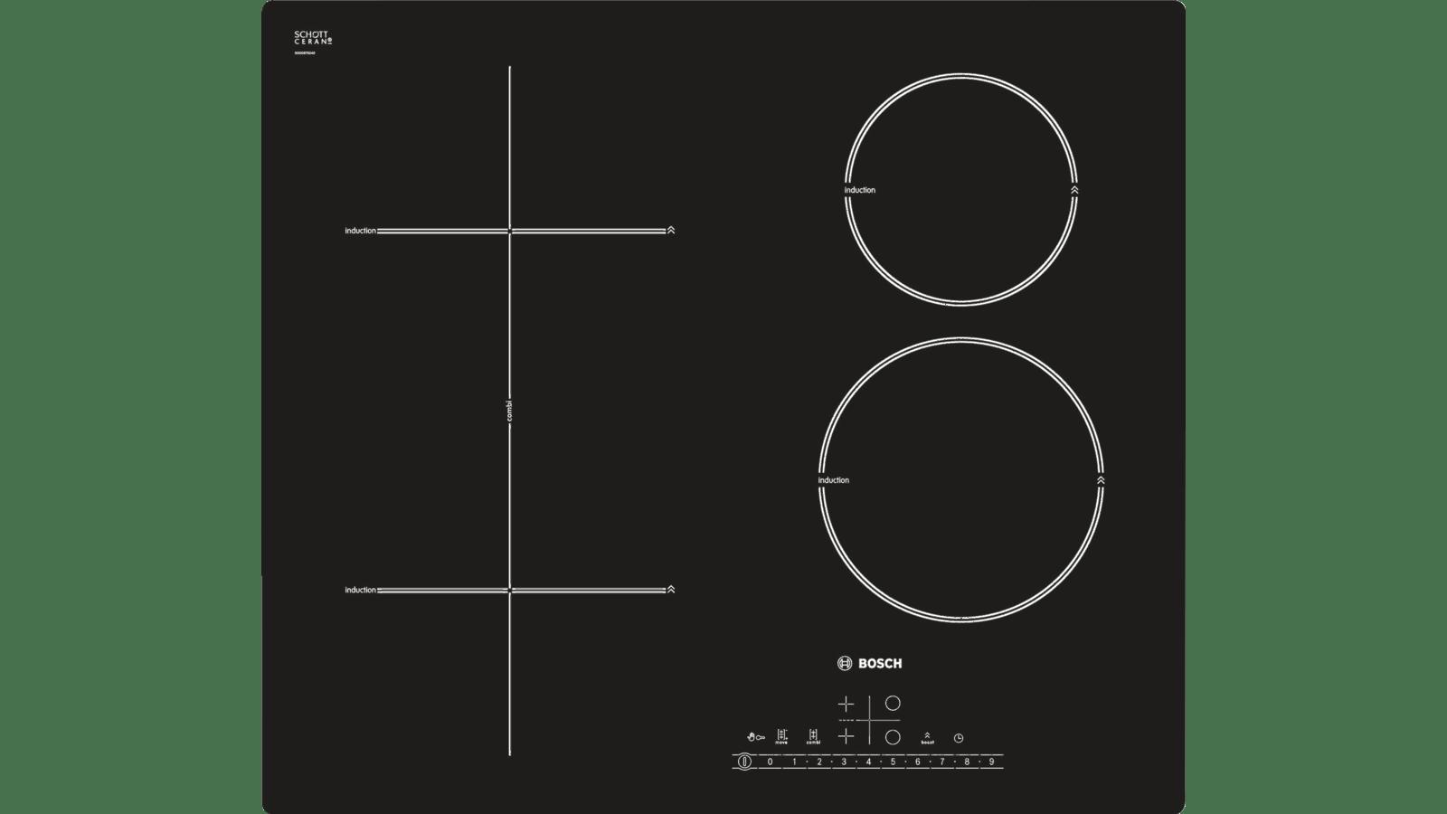 Piano Ad Induzione Consumi bosch - pit611f17e - piano cottura ad induzione 60 cm