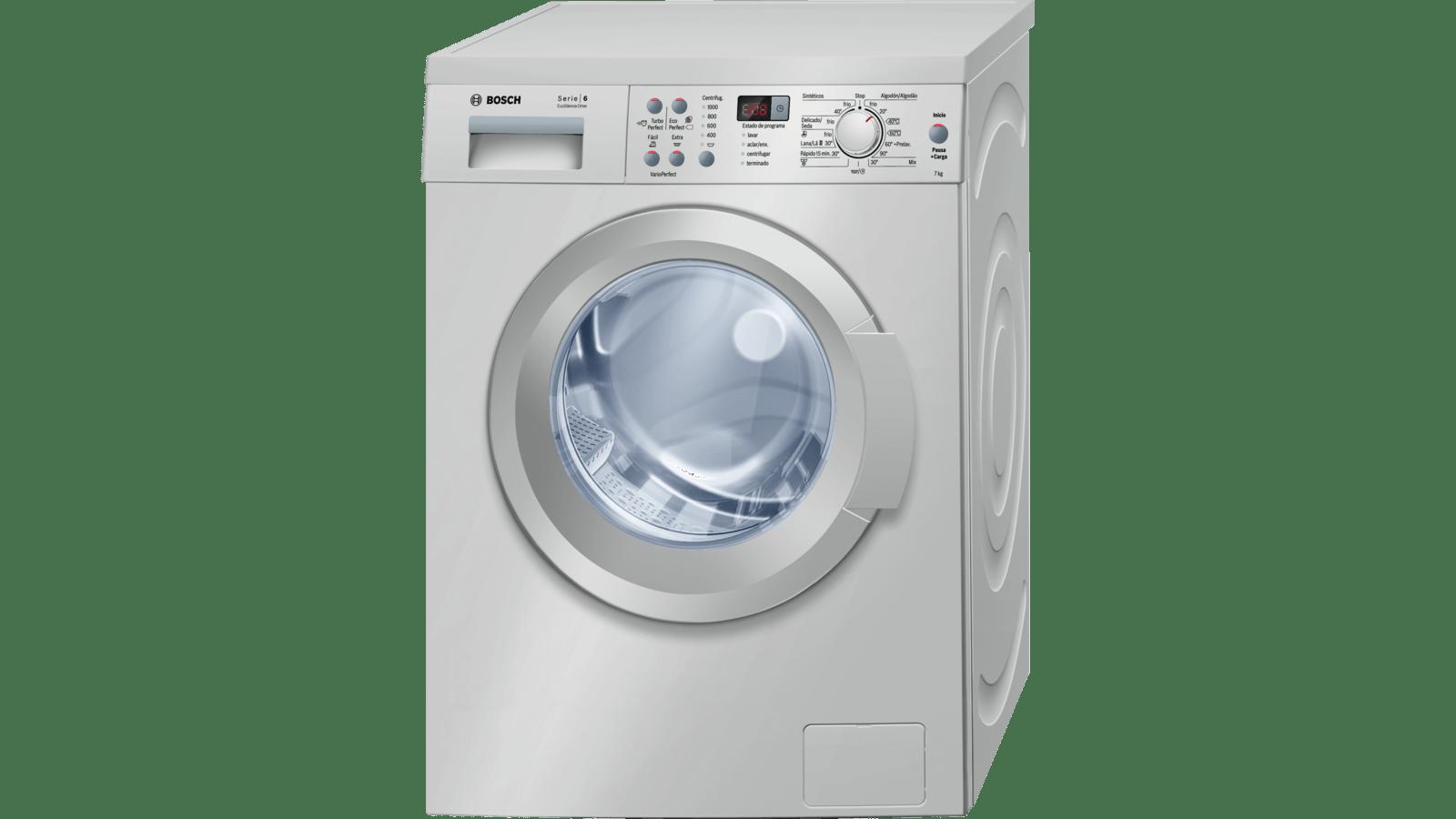 Bosch Waq2037xes Máquina De Lavar Roupa