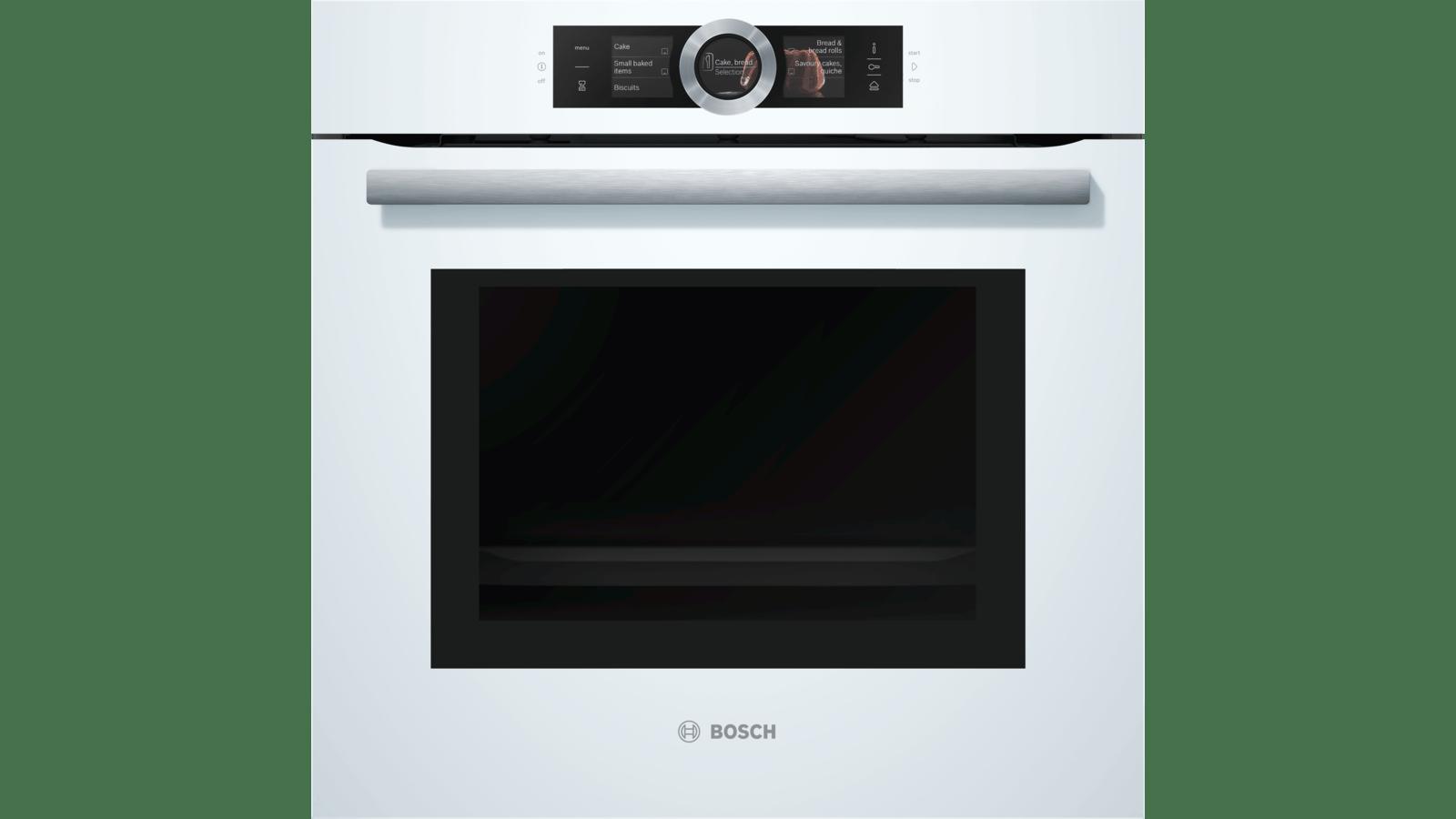 Bosch Serie 8 HNG6764W6 Backofen mit Mikrowelle und