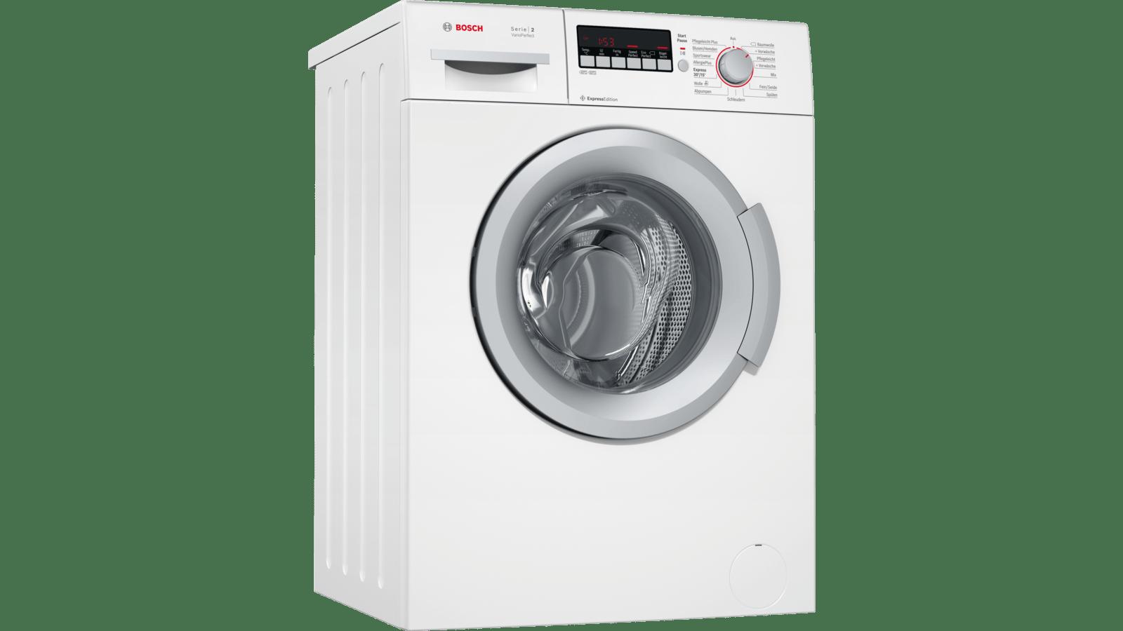 Bosch WAB282H2 Waschautomat weiß Energieklasse A+++