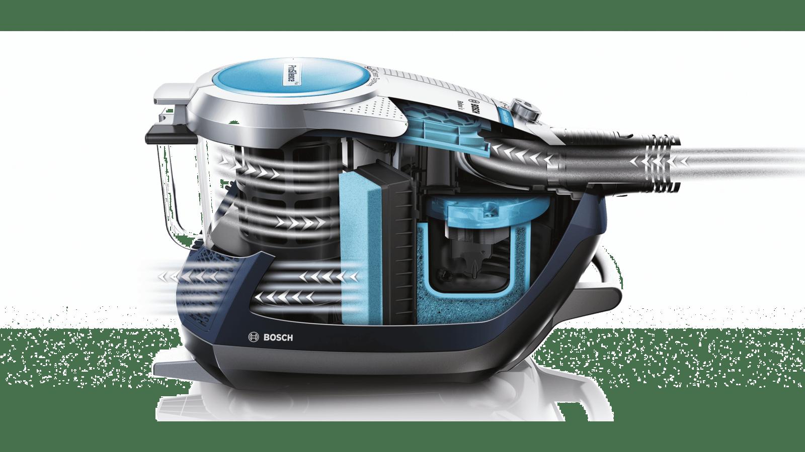 Bosch Bgs5sil66c Bagless Vacuum Cleaner