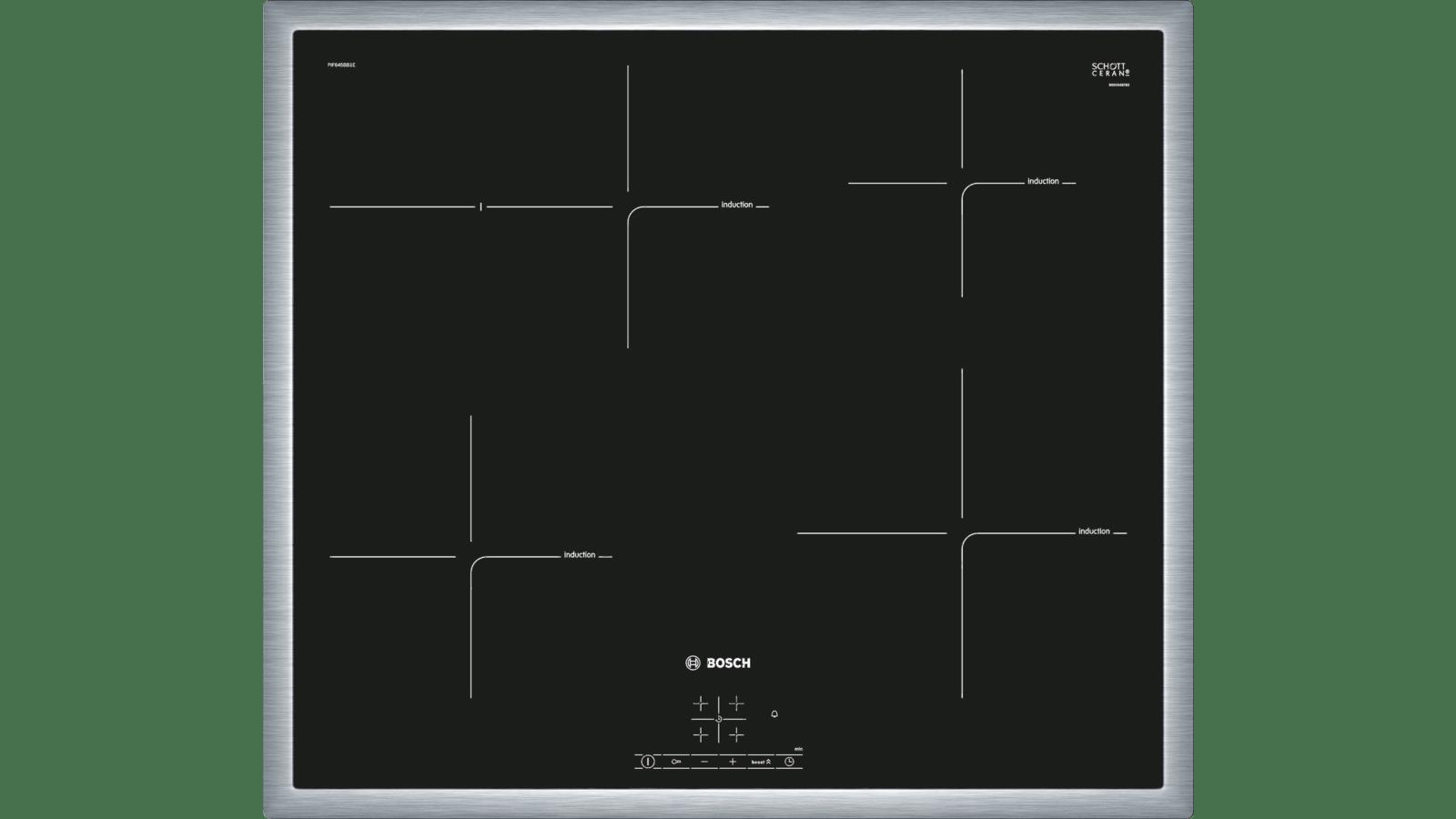Différence Vitrocéramique Et Induction serie | 4 table de cuisson vitrocéramique à induction - 60 cm