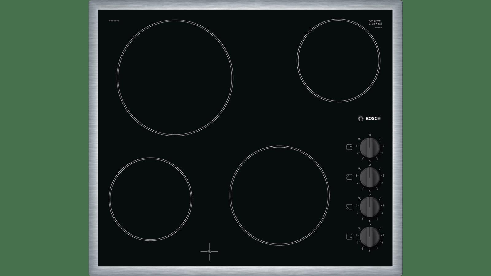Comparatif Table De Cuisson Induction Et Vitroceramique série 2 table électrique 60 cm noir pke645ca1e