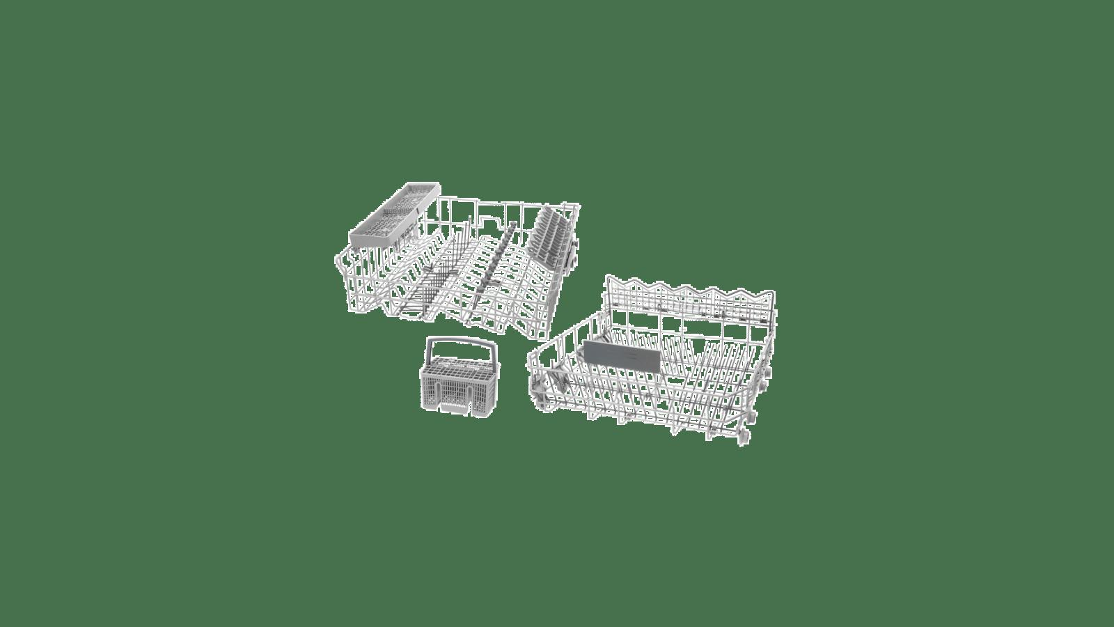 Besteckkorb ORIGINAL Geschirrkorb Korb unten Spülmaschine Bosch Siemens 680997