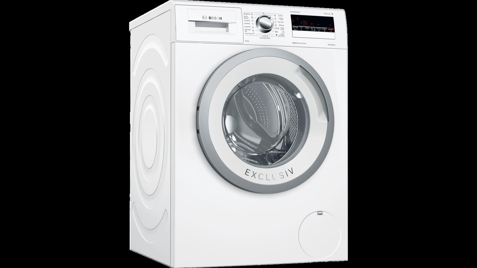 Bosch WLL2418KPL elöltöltős mosógép