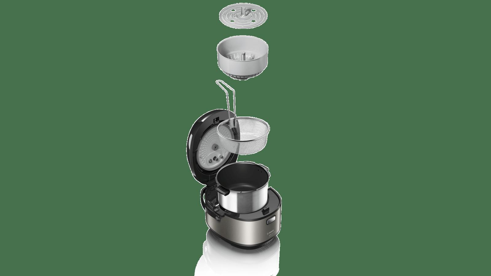 Bosch MUC88B68fr Multi Apple Cooker 1200 W Metallic