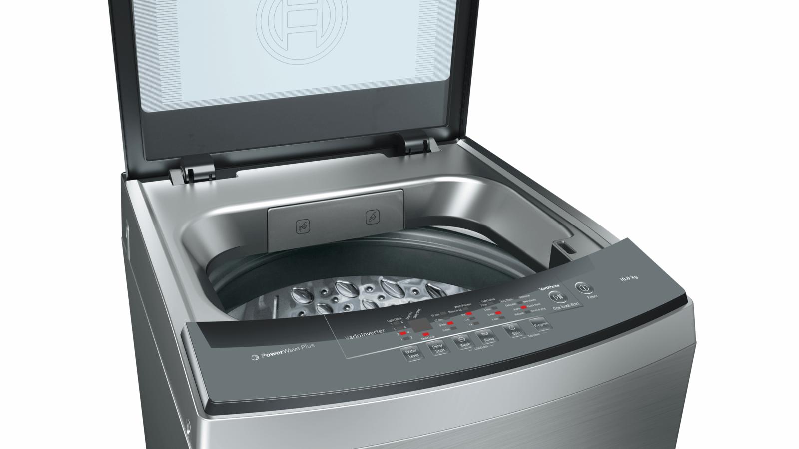 BOSCH - WOA104X0SG - Washing machine, top loader