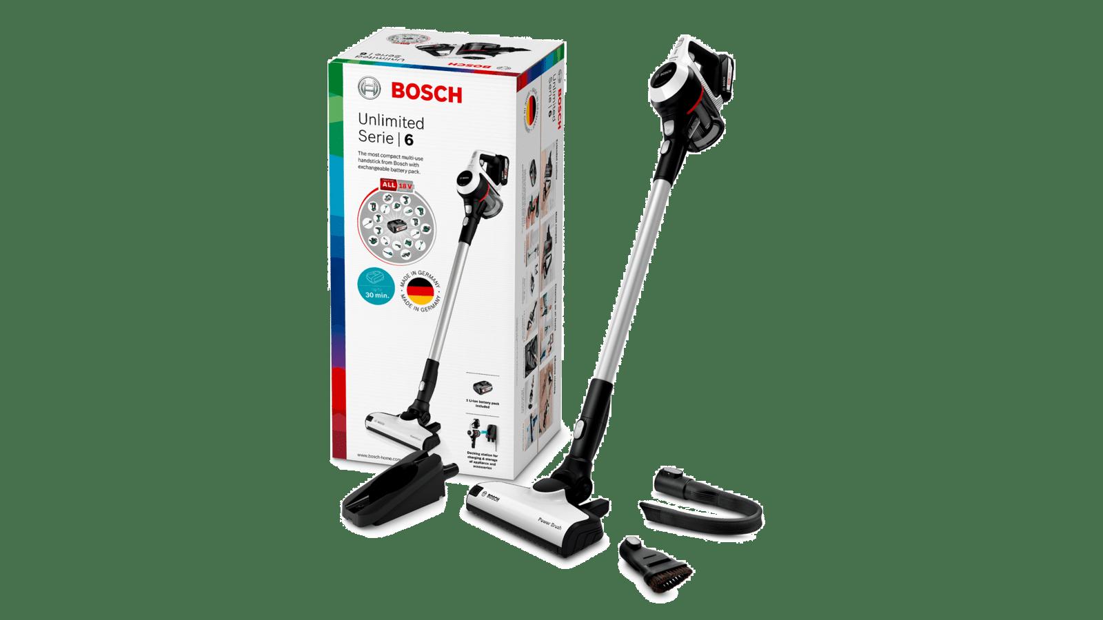 Bosch Unlimited Series 6 trådløs støvsuger BCS61113