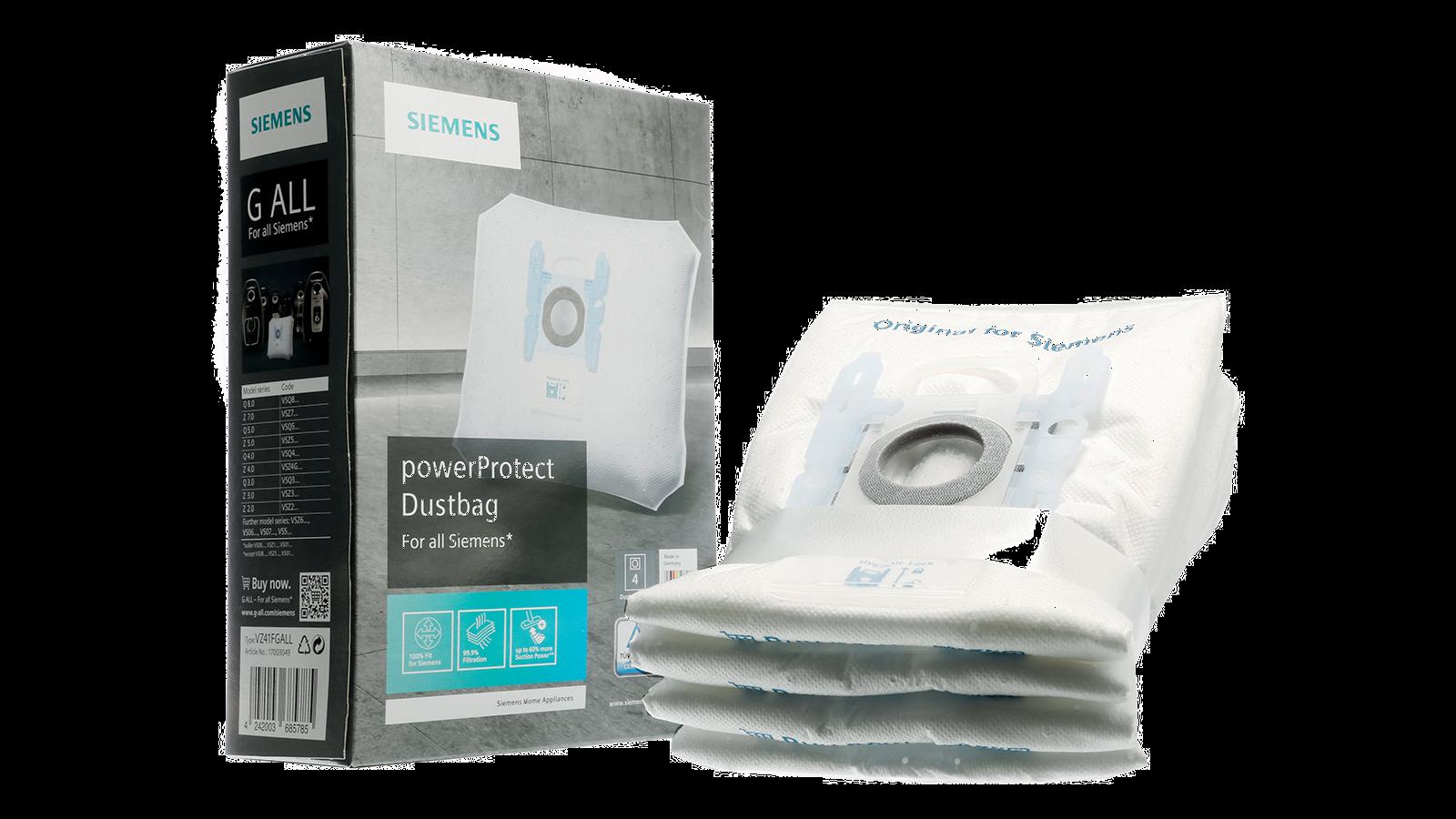 siemens type D E F G filtre sacs 10 sacs pour aspirateur Bosch Bosch