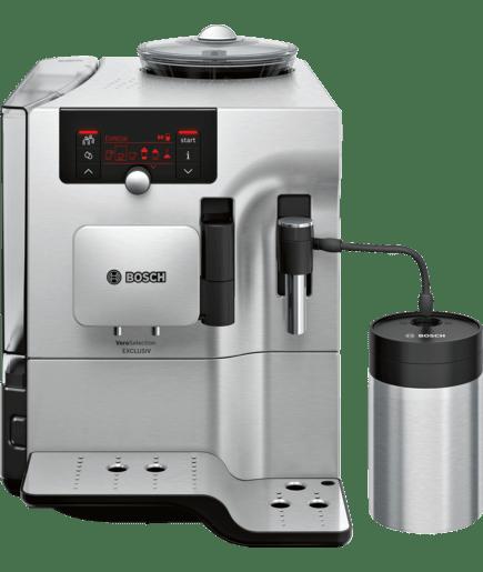 veroselection exclusiv kaffeevollautomat front edelstahl geh use anthrazit tes803f9de bosch. Black Bedroom Furniture Sets. Home Design Ideas