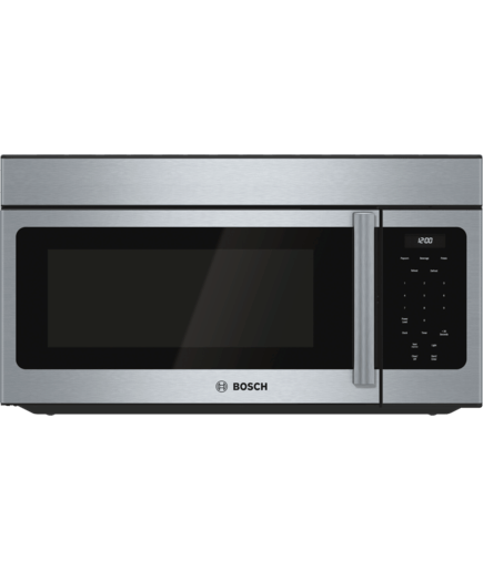 30 Over The Range Microwave Hmv3053u Stainless Steel 300 Series Bosch