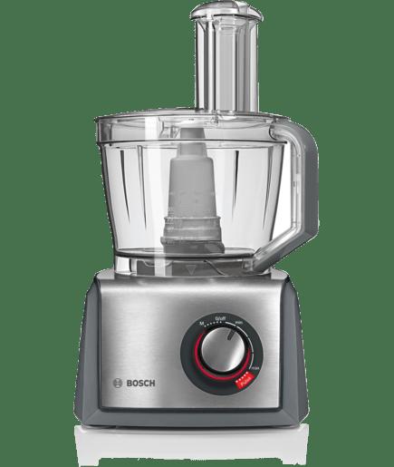 Robot da cucina compatto grigio acciaio spazzolato mcm68861 bosch - Robot cucina bosch ...