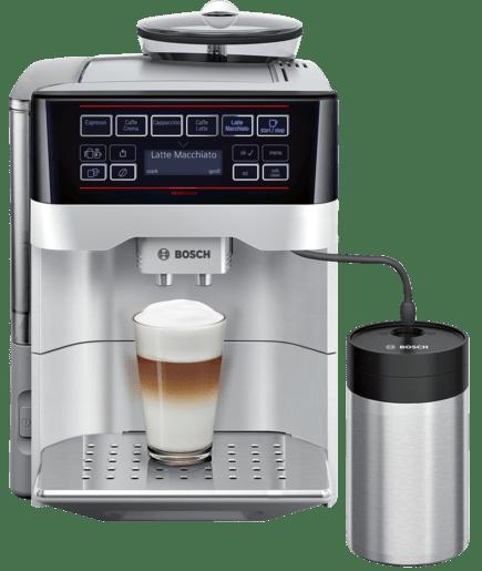 veroaroma exclusiv kaffeevollautomat silber tes603f1de bosch. Black Bedroom Furniture Sets. Home Design Ideas