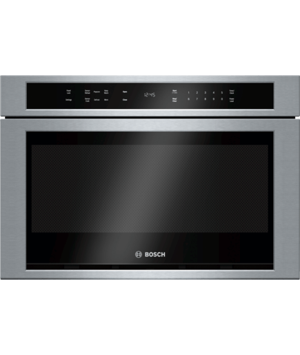24 Drawer Microwave Hmd8451uc Stainless Steel 800 Series Bosch