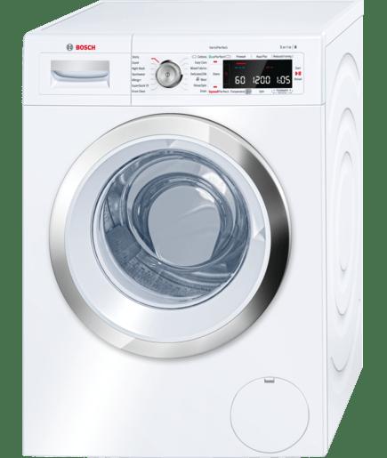 automatic washing machine serie 8 waw28560gb bosch rh bosch home co uk Bosch Washing Machine Water Control Valve Bosch Washing Machine Bathroom