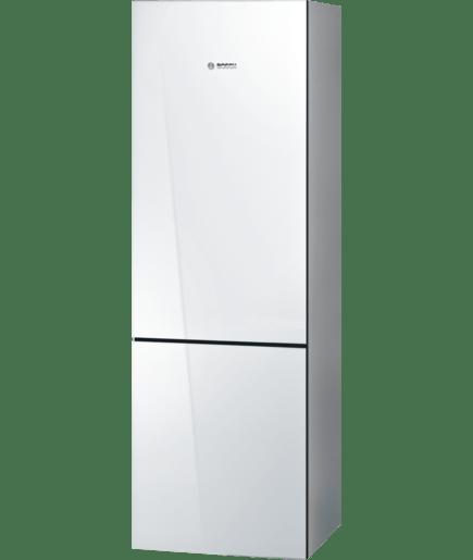 24 Freestanding Counter Depth Two Door Bottom Freezer Refrigerator