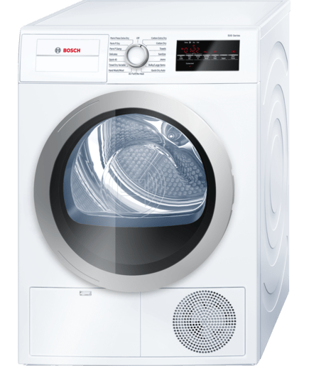 24 compact condensation dryer wtg86401uc white silver 500