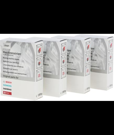Pack eco 3 1 gratuit nettoyant pour lave linge 00311611 - Nettoyant lave linge ...