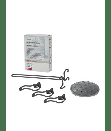 kit de 3 accessoires et 1 produit d 39 entretien pour lave vaisselle 00576338. Black Bedroom Furniture Sets. Home Design Ideas