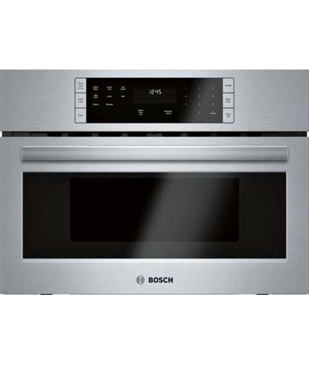 27 Built In Microwave Oven Hmb57152uc Stainless Steel 500 Series Bosch